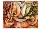 Paul Klee (1879-1940)  -  Indiscretion, 1935 - Postcard -  A104938-1