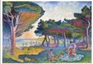 Henri E. Cross (1856-1901)  -  De middellanse zeekust - Postcard -  A10847-1