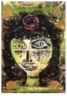 Paul Klee (1879-1940)  -  Rosa, 1920 - Postcard -  A112967-1