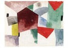 Paul Klee (1879-1940)  -  Weariness in a Spacious City, 1915 - Postcard -  A118552-1