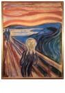 Edvard Munch (1863-1944)  -  De Schreeuw, 1893 - Postcard -  A11893-1