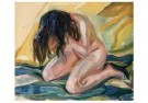 Edvard Munch (1863-1944)  -  Huilend naakt 1914-1919 - Postcard -  A11904-1