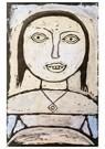 Paul Klee (1879-1940)  -  Sick Girl, 1937 - Postcard -  A120054-1