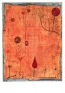 Paul Klee (1879-1940)  -  Fruits on Red, 1930 - Postcard -  A121750-1