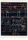 Paul Klee (1879-1940)  -  Children before a City, 1928 - Postcard -  A122808-1