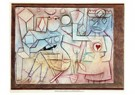 Paul Klee (1879-1940)  -  Old Love Song, 1924 - Postcard -  A124390-1