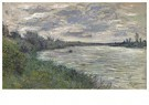 Claude Monet (1840-1926)  -  La Seine Pres De Vetheuil, Temps Orageux - Postcard -  A13458-1