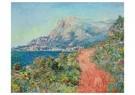 Claude Monet (1840-1926)  -  La Route Rouge Près De Menton - Postcard -  A13459-1