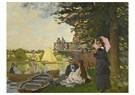 Claude Monet (1840-1926)  -  L'Embarcadre - Postcard -  A13468-1