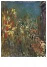 Claude Monet (1840-1926)  -  Leicester Square, La Nuit - Postcard -  A13470-1