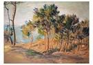 Claude Monet (1840-1926)  -  Les Sapins À Varengeville - Postcard -  A13475-1