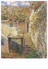 Claude Monet (1840-1926)  -  L'Escalier - Postcard -  A13476-1