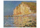 Claude Monet (1840-1926)  -  Marée Basse Aux Petites-Dalles - Postcard -  A13482-1