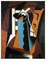 Juan Gris(1887-1927)  -  Still Life On A Chair - Postcard -  A15807-1
