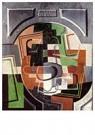 Juan Gris(1887-1927)  -  Still Life On Plaque - Postcard -  A15821-1