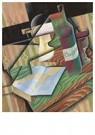 Juan Gris(1887-1927)  -  Le Livre - Postcard -  A16491-1