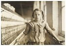 Lewis Hine(1874-1940)  -  Cotton-Mill Worker, North Carolina - Postcard -  A16765-1