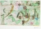 Paul Klee (1879-1940)  -  Im Bach'schen Stil, 1919 - Postcard -  A2055-1
