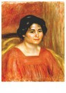 Auguste Renoir (1841-1919)  -  Gabrielle In A Red Dress - Postcard -  A20790-1