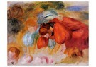 Auguste Renoir (1841-1919)  -  Study For 'The Croquet Game' - Postcard -  A20802-1