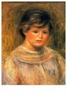 Auguste Renoir (1841-1919)  -  Head Of A Woman 6 - Postcard -  A20823-1