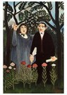 Henri Rousseau(1844-1910)  -  The Muse Inspiring The Poet - Postcard -  A21174-1