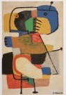 Karel Appel (1921-2006)  -  Vragend kind - Postcard -  A6200-1