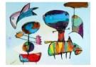 Karel Appel (1921-2006)  -  Lentezee - Postcard -  A8761-1