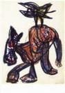 Karel Appel (1921-2006)  -  Psychopatical noteboo - Postcard -  A9879-1