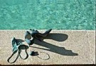 Paul Huf (1924-2002)  -  Swimming?, 1995 - Postcard -  C9340-1