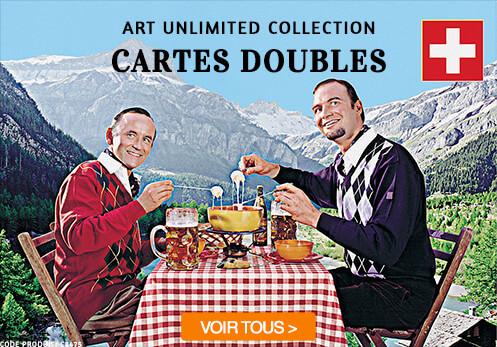 art unlimited cartes doubles
