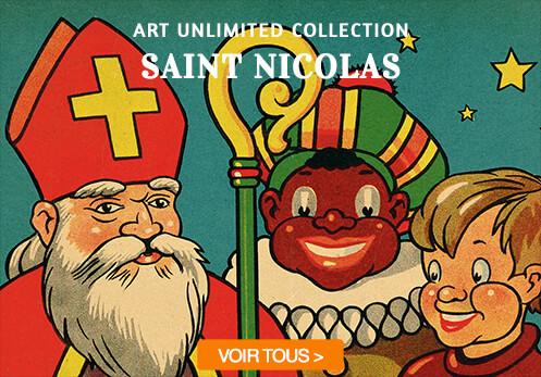 saint nicolas cartes postales